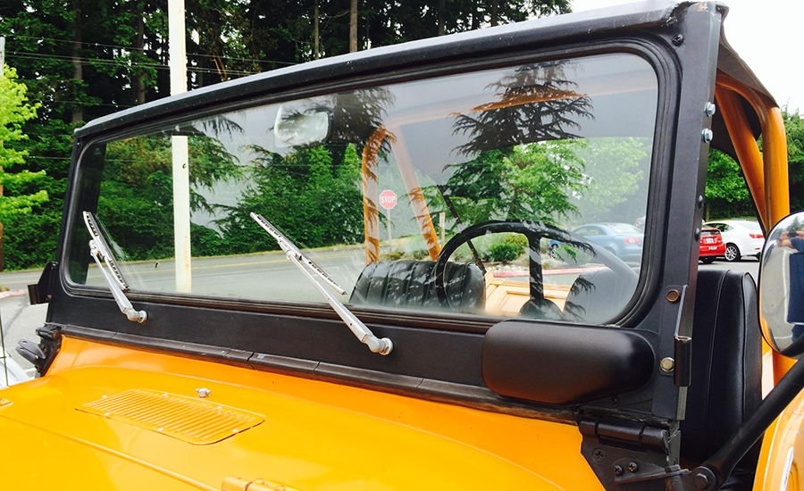 Jeep Windshield Replacement For 1968 1975 Jeep Cj