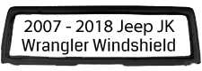 2007-2018 JK Windshield Complete